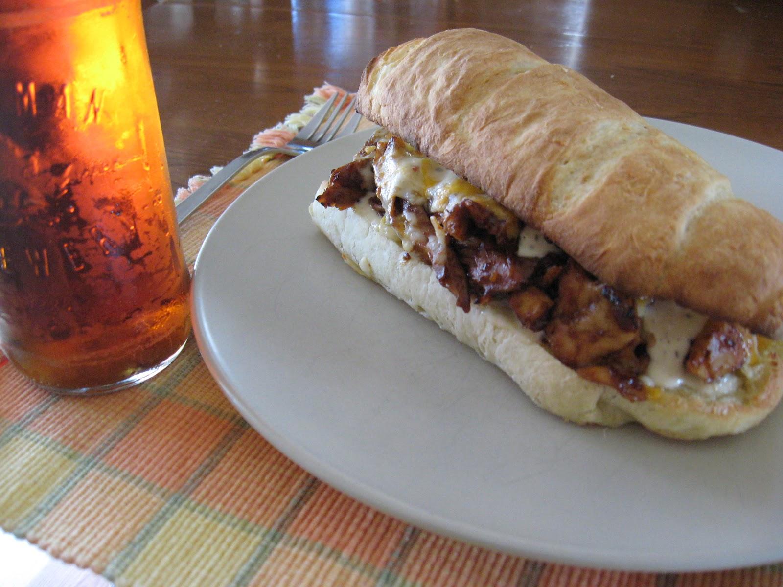 Recettes de flipp sandwich baguette maison au poulet bbq - Recette sandwich froid baguette ...