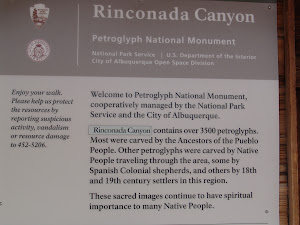 Rinconada Canyon Sign