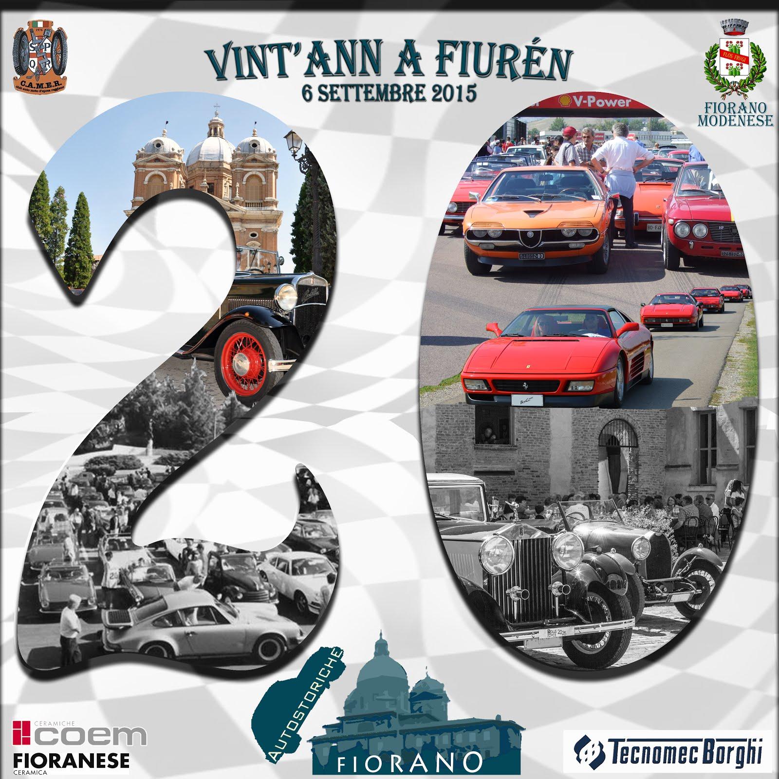 20° Raduno Auto Storiche Fiorano