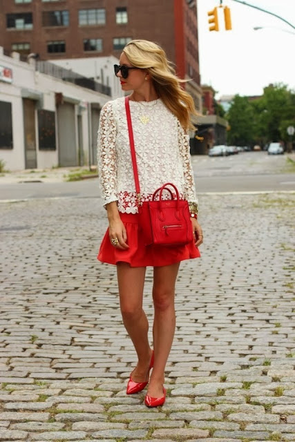 Street Style Fashion Blog Christmas Outfits Red Fall Fashion Atlantic Pacific