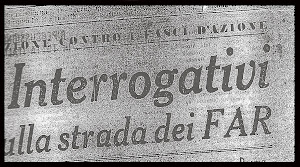 F.A.R. FASCI D' AZIONE RIVOLUZIONARIA