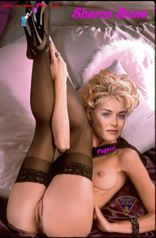 Sharon stone naked fakes think, that