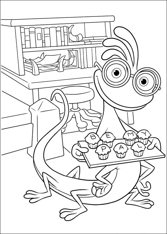 monster university coloring pages - photo#11