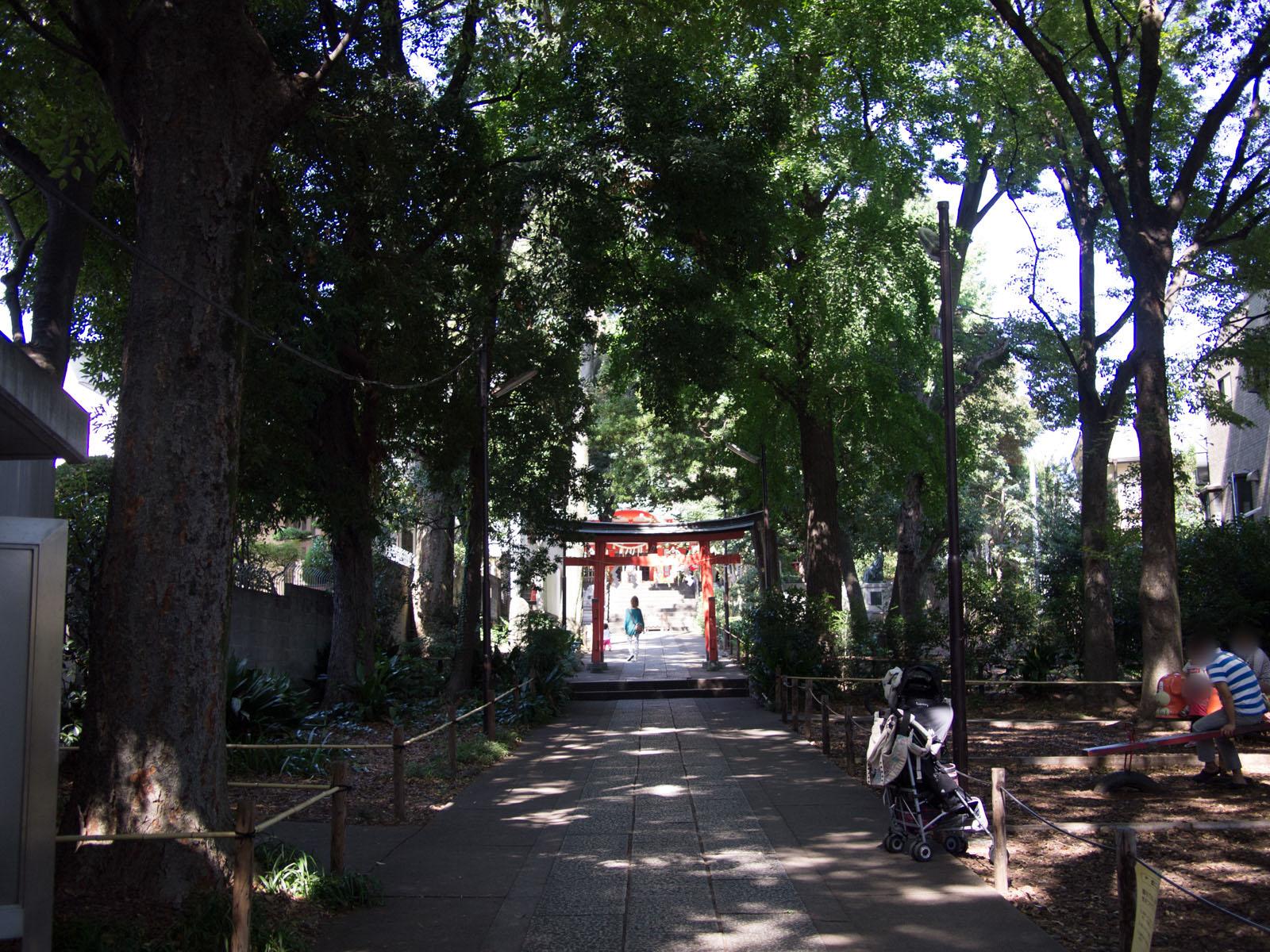 自由ヶ丘 熊野神社