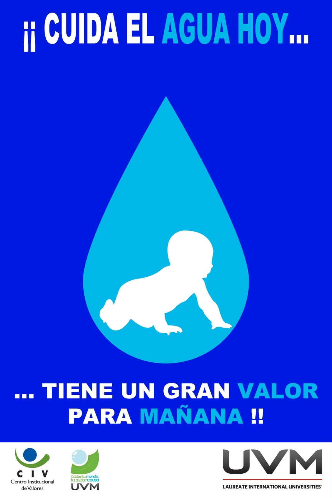 El Cartel Ilustrado: Cartel 5 - Cuidar el agua