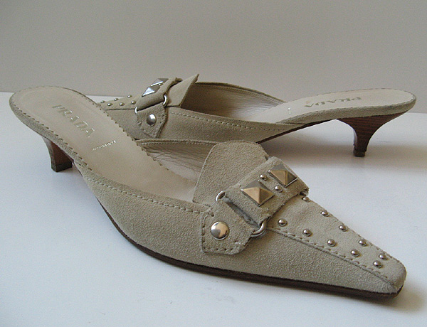 Good Closet Prada Mui Mui Suede Shoes Womens Size 8