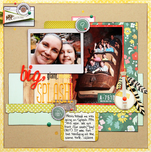 Splash Mountain_Disney World_Scrapbook Page