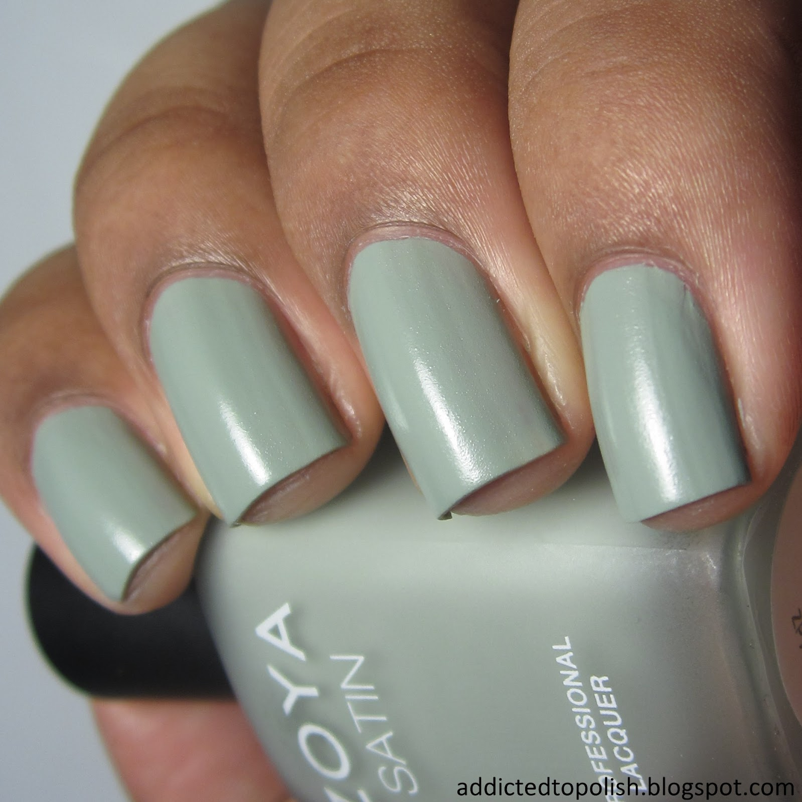 Zoya Sage swatches Addicted to polish