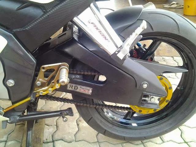 Modifikasi Vixion Ala Ninja 250R