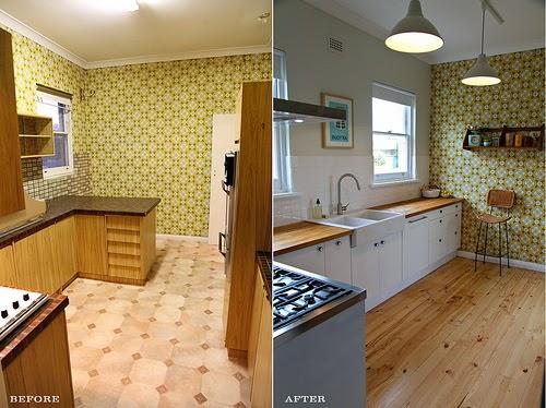 En estado de rachel antes y despu s de una cocina a os 50 - Cocinas anos 50 ...