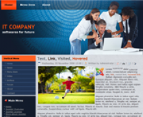 IT Company Joomla 1.6 Template