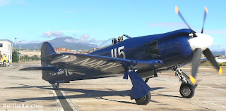 Hawker Sea Fury F-AZXJ