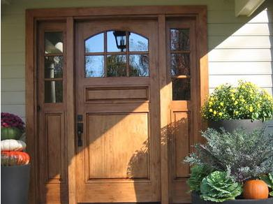 puertas para exteriores de madera