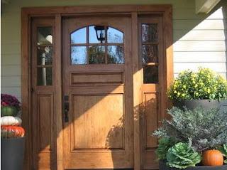 Fotos y dise os de puertas puertas para exteriores de madera for Disenos de puertas de madera para exterior