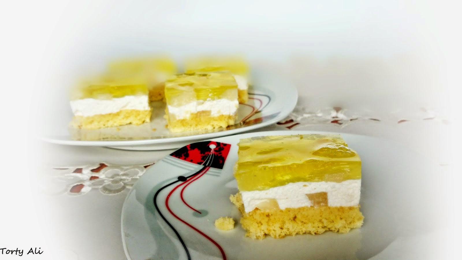 Ciasto z galaretką-różne smaki