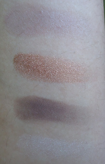 Maybelline Chai Latte Quad Review, Swatches