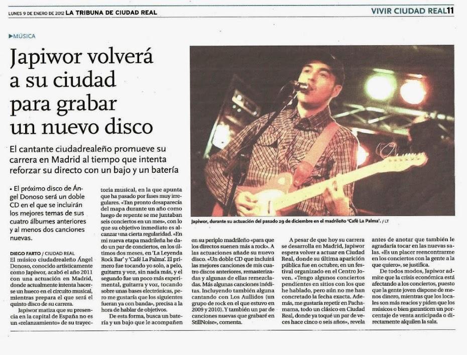 09/01/2012 LA TRIBUNA DE CIUDAD REAL