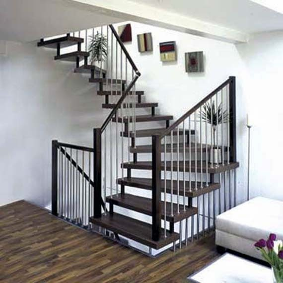 Contoh Gambar Tangga Rumah Minimalis