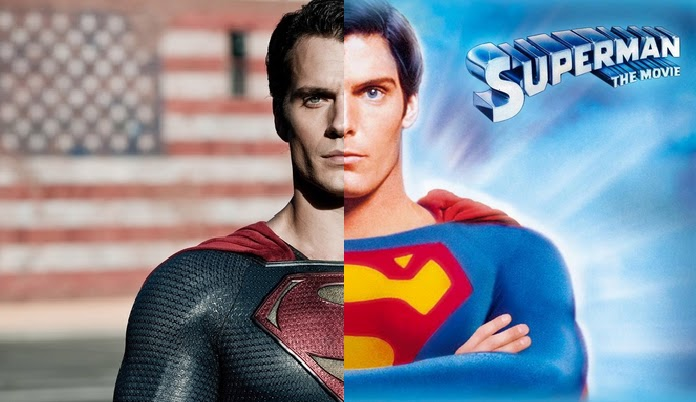 Men Of Steel Henry Cavill And Christopher Reeve Portray Superman 35 Years Apart
