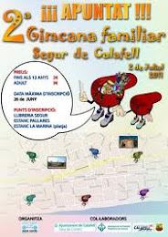 2º GINCANA  FAMILAR 2011  Segur de Calafell