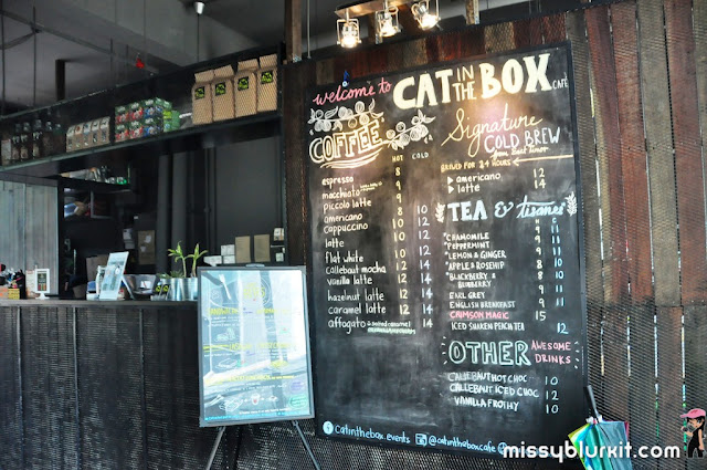 www.offpeak.my, Cat in The Box, Empire Damansara, coffee, Australia, flat white, Foodie Trail,