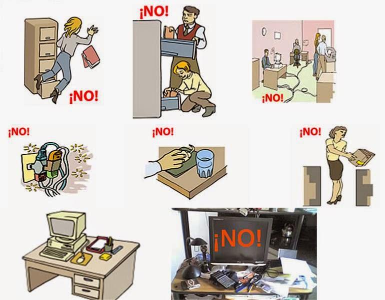 teconecto com riesgos en la oficina