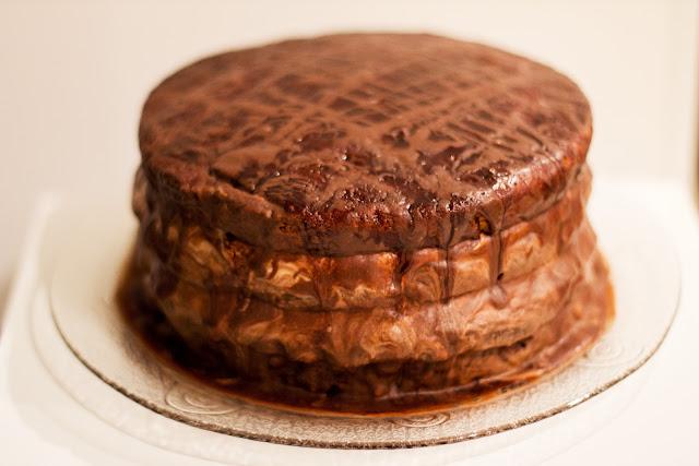 Фото-рецепт настоящего пражского торта