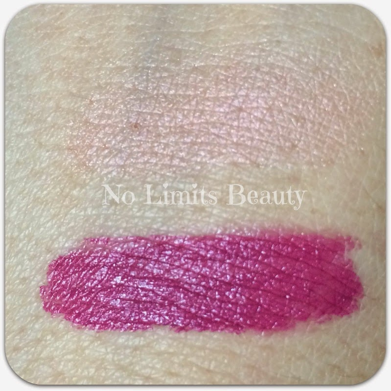 BirchBox Febrero 2015 - Swatches (Mattfinity Cream Lip Rouge de Mineresse y Cindy LouManizer de The Balm)