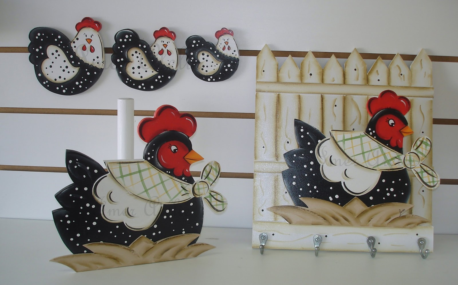 kit decoracao cozinha:kit cozinha galinha angola