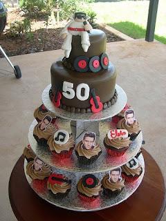 50th Birthday Cakes Decoration