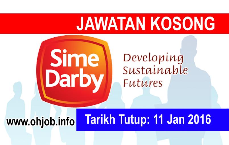 Jawatan Kerja Kosong Sime Darby Plantation logo www.ohjob.info februari 2016