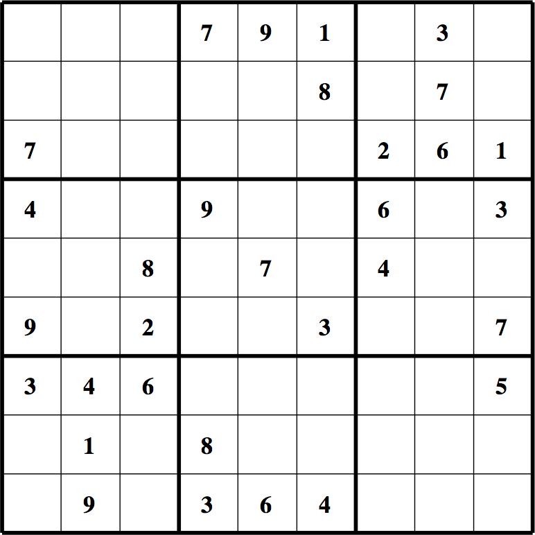 Sudoku A Imprimer Sudoku 224 Imprimer Sudoku Facile Celui