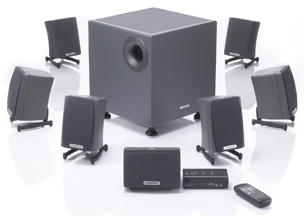 Totalflux Creative Labs Gigaworks S750 7 1 Speaker System