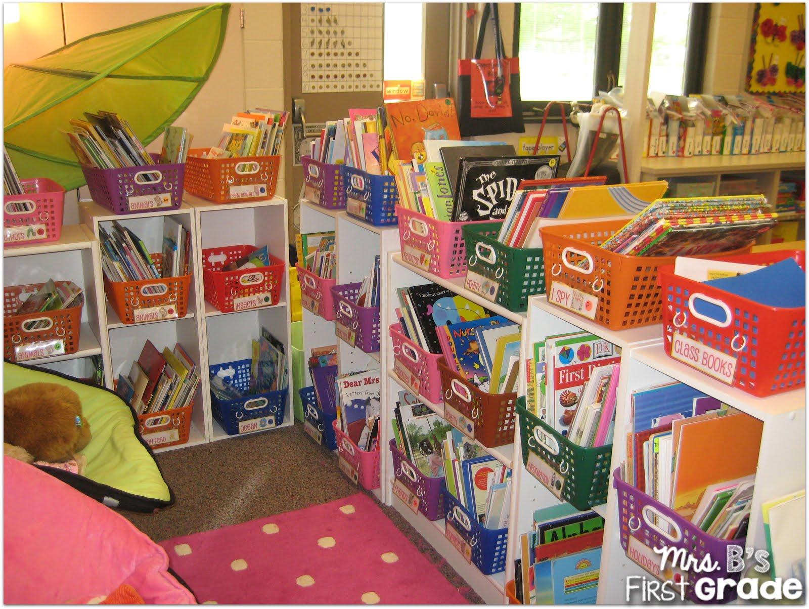 Classroom Organization Ideas First Grade ~ Organizing your classroom library mrs b s first grade