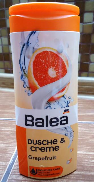 Grejprutowy żel pod prysznic Balea