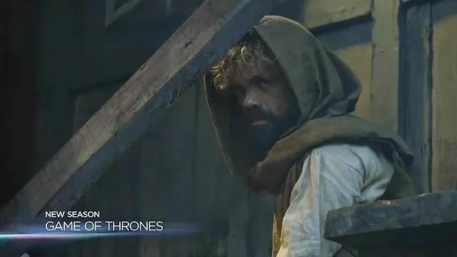 El fugitivo Tyrion tratando de pasar desapercibido...