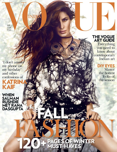 Sexy Katrina Kaif is a true goddess on the cover of VOGUE Indias September 2015 edition