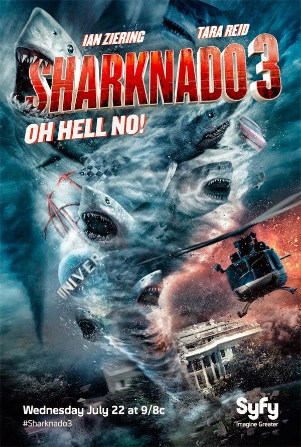 Sharknado 3 – HD 720p – Legendado