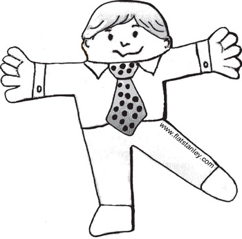 Influential image with flat stanley printable