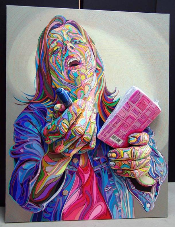 Los murales 3D de Marchal Mithouard