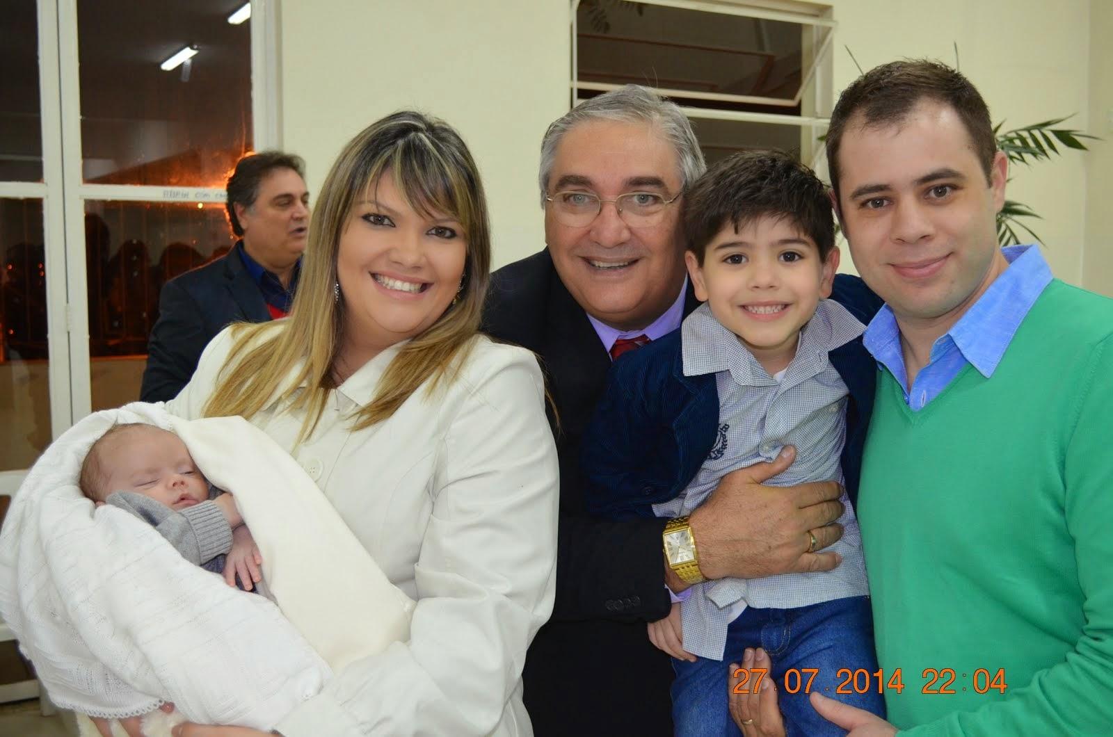 Bernardo, Juliana, Eu, Gabriel e Cesar.