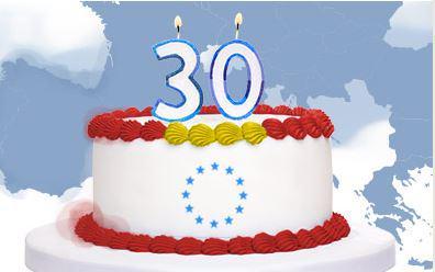 ¡30 AÑOS DENTRO DE LA UE¡
