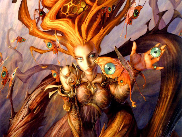 Бабочки и глаза