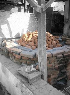 Proses pembakaran keramik, kerajinan keramik asli malang, kerajinan