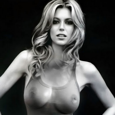 Diora Baird big boobs in see through shirt