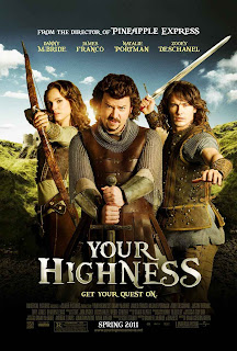 Watch Your Highness 2011 Hollywood Movie Online | Your Highness 2011 Hollywood Movie Poster