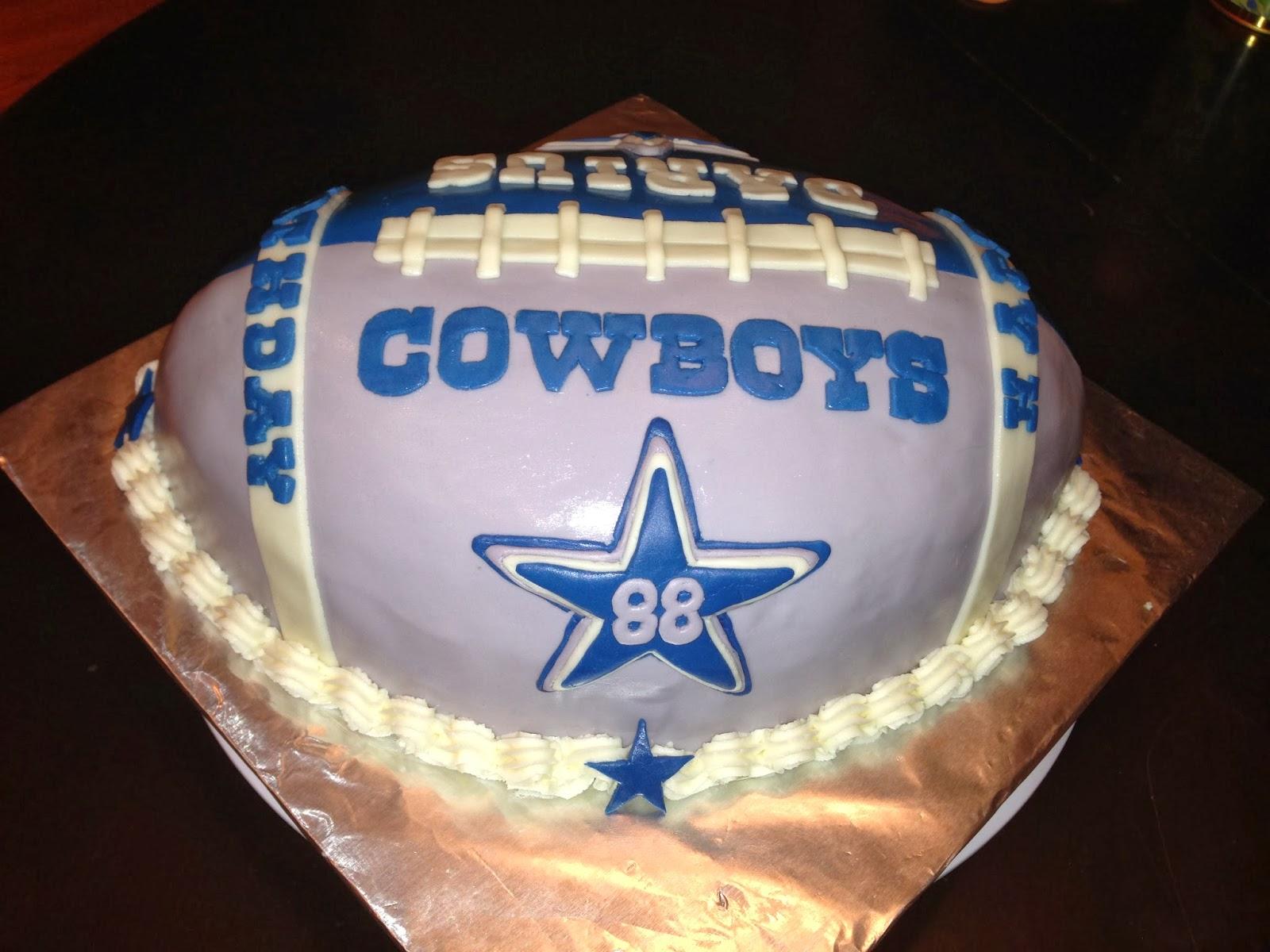 cowboys football cakes