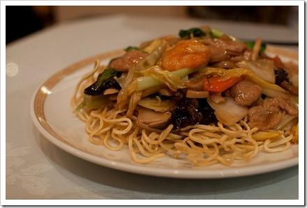 RECETAS PARA VOZ: Receta de Chow Mein de pollo