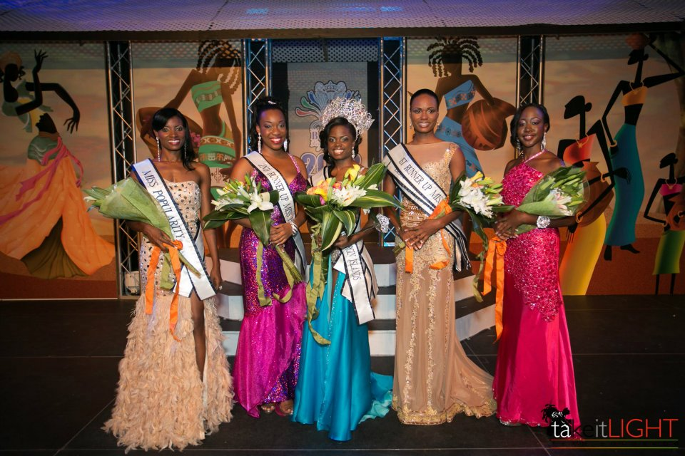 Miss BVI 2012-2013 winners