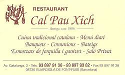 Restaurnt Cal Pau Xich